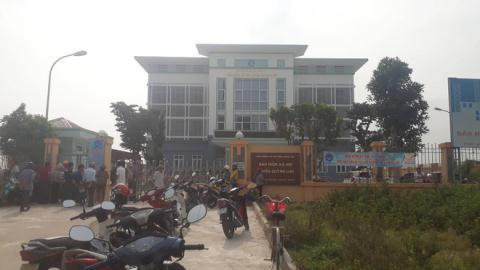 Bảo vệ BHXH huyện tử vong: Hung thủ để lại giày