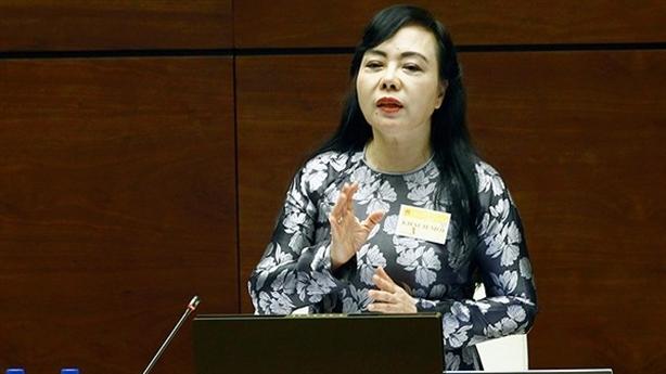 Sẽ miễn nhiệm Bộ trưởng Y tế Nguyễn Thị Kim Tiến