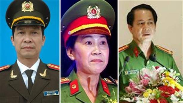 Kỷ luật 3 Phó Giám đốc Công an tỉnh Đồng Nai