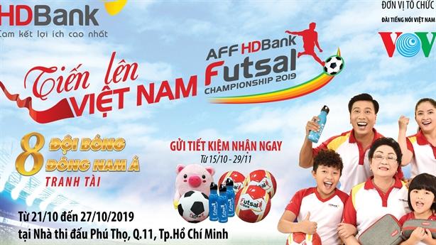 HDBank tưng bừng ưu đãi cùng giải Futsal HDBank Đông Nam