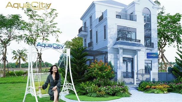 Aqua City–sức hấp dẫn đến từ đô thị sinh thái thông minh