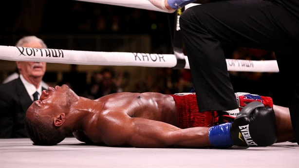 Võ sĩ tử vong sau cú đấm knock-out