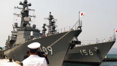 Phớt lờ Mỹ, Nhật tự điều quân tới Hormuz