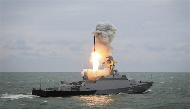 Nga bất ngờ phóng Kalibr gần Israel