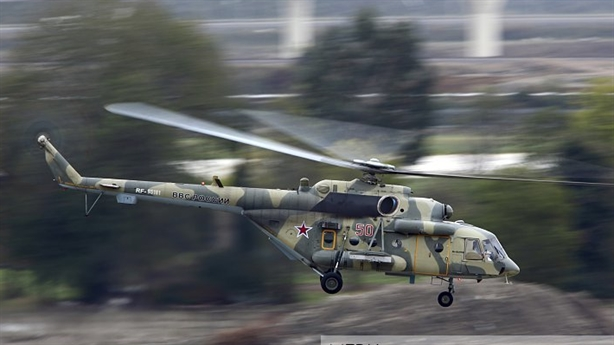 Nga mang trực thăng của FSB đến Syria phòng Thổ