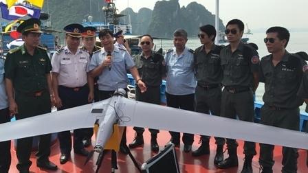 Tàu tuần tra Hải quan được trang bị UAV tối tân Israel