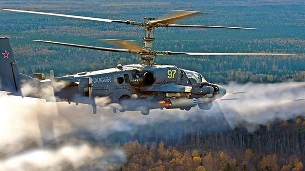 Tor Ukraine đe dọa Ka-52 Nga
