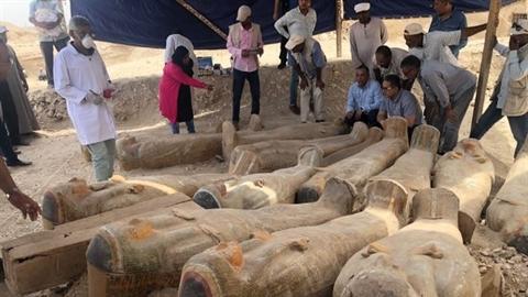 Đào được 30 quan tài cổ nghìn năm: Nhiều bí ẩn