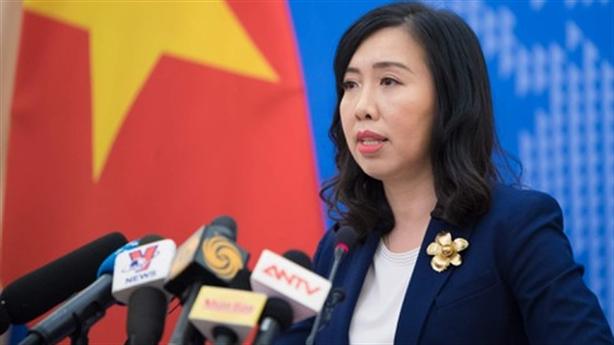 Tàu Hải Dương 8 rút, Việt Nam yêu cầu không tái phạm