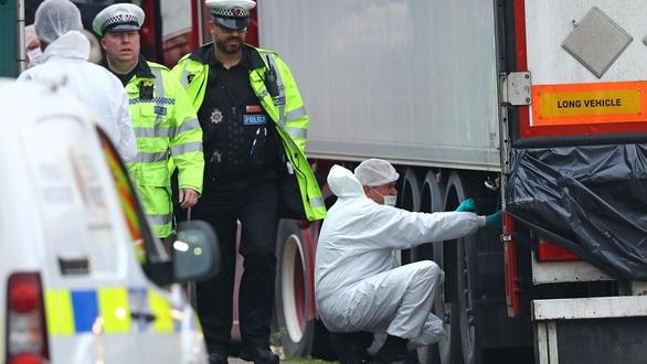 Tin tức mới về vụ 39 người chết trong container đông lạnh