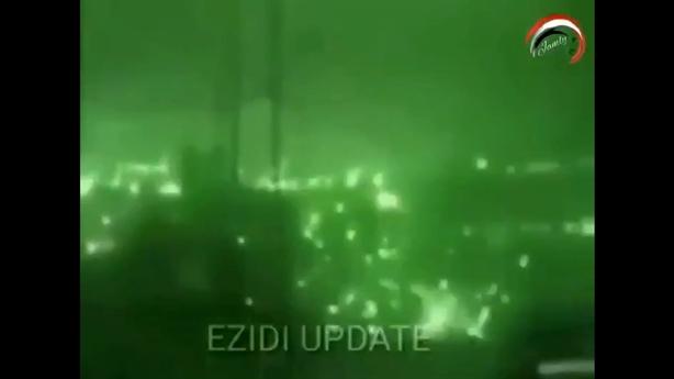 Apache dội bão lửa xuống nơi trú ẩn của thủ lĩnh IS