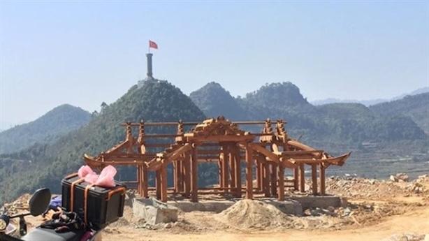 Hà Giang tạm đình chỉ dự án tâm linh Lũng Cú