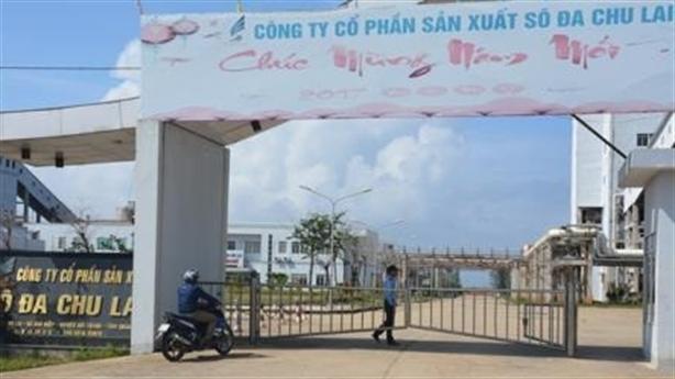 Đề nghị rút giấy đăng ký kinh doanh cty Sôđa Chu Lai