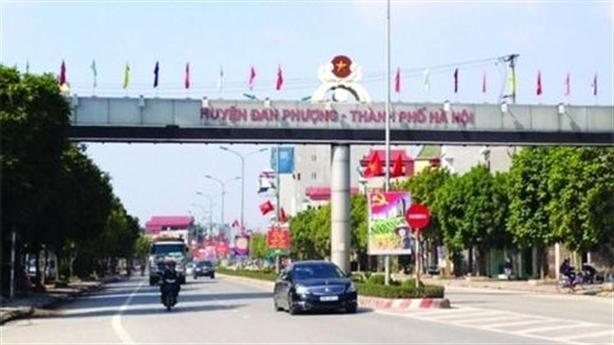 Hà Nội duyệt đề án đưa 4 huyện lên quận