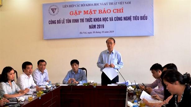LHH Việt Nam tôn vinh trí thức khoa học công nghệ 2019