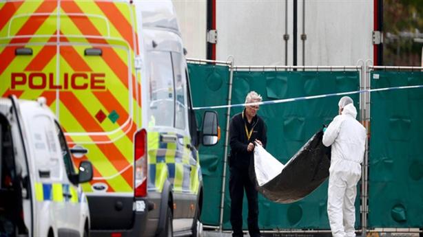 39 thi thể trong container: Thảm kịch nhân đạo nghiêm trọng