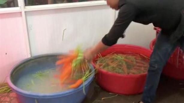 Xử hình sự người rửa củ cải bằng hóa chất: Lý giải