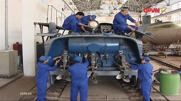 Tàu ngầm mini của Đặc công Hải quân Việt Nam