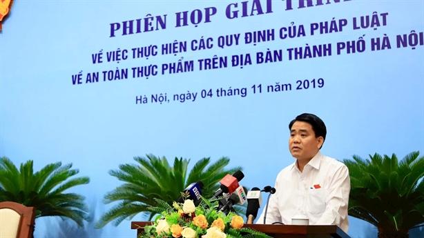 Hà Nội nói về sự cố mất ATTP nước sạch sông Đà