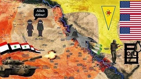 'Assad must go' thất bại, Mỹ gỡ gạc chiếm mỏ dầu Syria