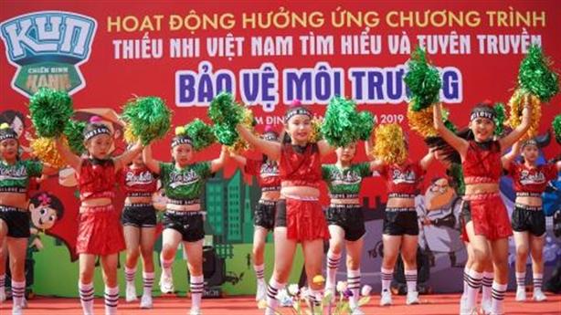 Độc đáo cuộc thi bảo vệ môi trường ở Thái Nguyên