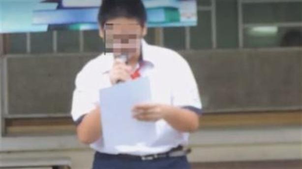 Phát tán video kỷ luật nam sinh xúc phạm BTS:Bộ nói gì?