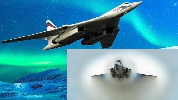 Sợ bị 'lột da', F-35 bị…ông lão Tu-160 Nga cho hít khói