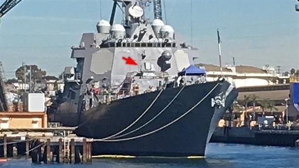 Tàu Aegis Mỹ độ thêm vũ khí chặn tên lửa chống hạm