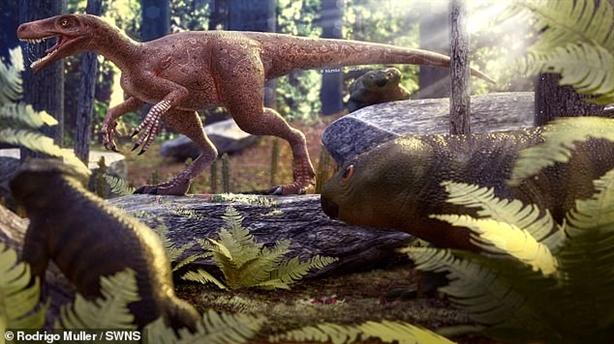 Tổ tiên của loài khủng long bạo chúa lộ diện