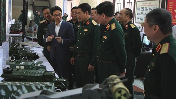 Tiếp tục mở đề án KHCN chế tạo vũ khí mới
