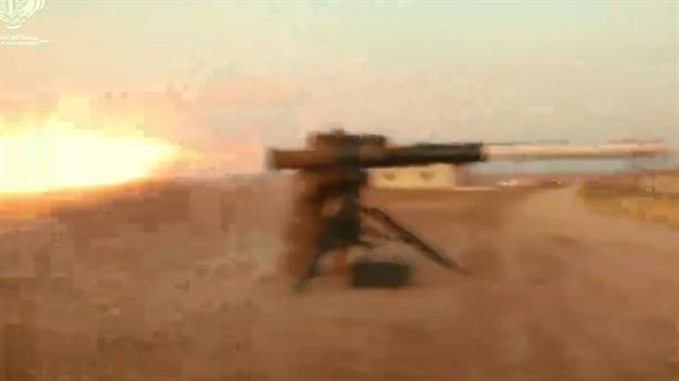 Lực lượng thân Thổ khoe cảnh hủy diệt SPG-9 của Kurd