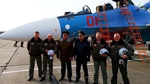 Belarus nhận Su-30SM bản nội địa cực mạnh của Nga
