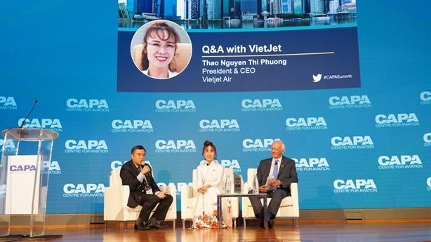 Vietjet:'Hãng hàng không chi phí thấp Châu Á Thái Bình Dương 2019'
