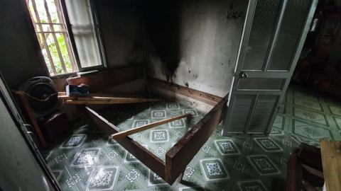 Chồng giết vợ, đốt xác: Ngạt khói nhảy vào bể nước