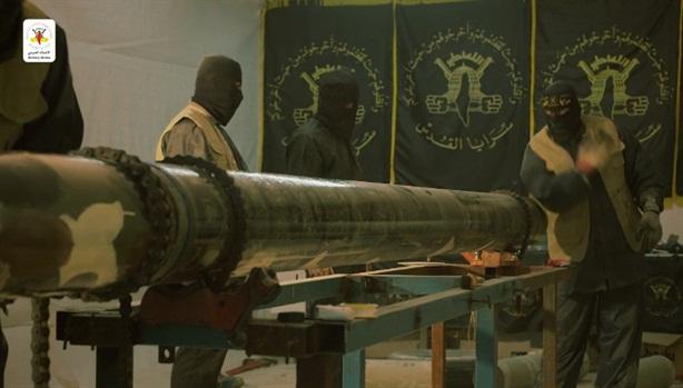 Jihad công bố tên lửa tự chế xuyên thủng Iron Dome