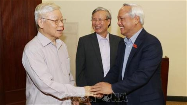 Tổng Bí thư Nguyễn Phú Trọng chủ trì họp chống tham nhũng