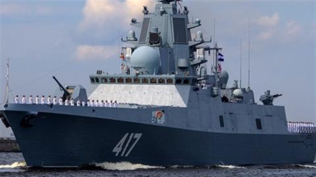 Chiến hạm Nga mang kho tên lửa ra biển bắn đạn thật