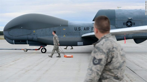 Iran khiến Global Hawk chung số phận với RQ-170