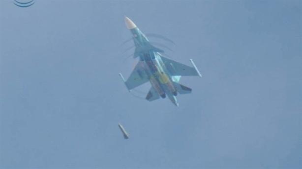 Su-34 dùng bom siêu chính xác tấn công phiến quân tại Idlib
