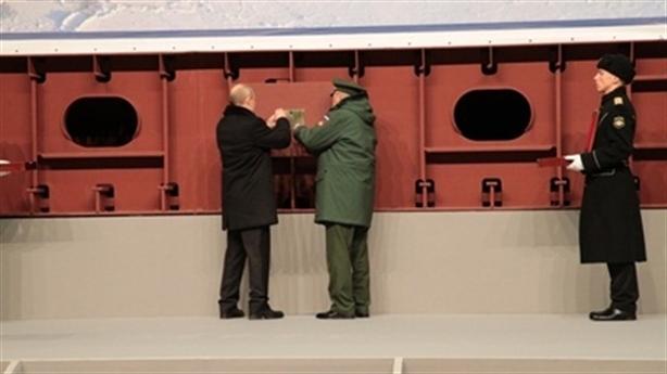 Ông Putin hành động, Bắc Cực thêm tàu phá băng chiến đấu
