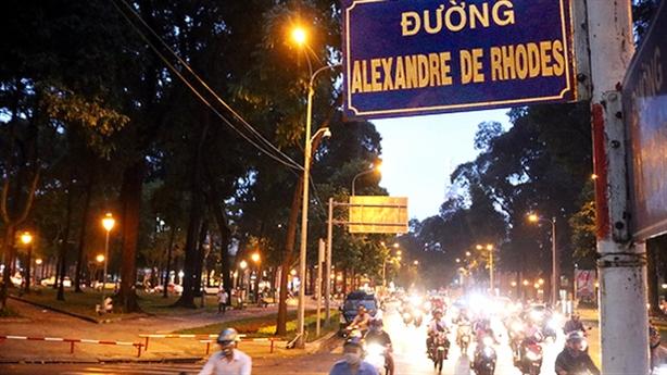 Tranh cãi đặt tên đường Alexandre de Rhodes ở Đà Nẵng