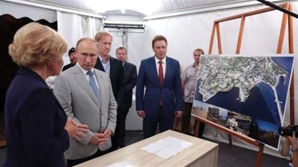 'Mỹ ép ông Putin tái sát nhập Crimea'