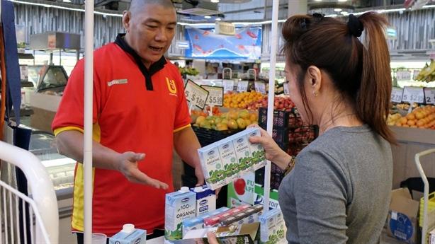 Sữa tươi Vinamilk: Đồ uống quen thuộc của người dân Singapore
