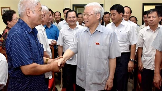Tổng Bí thư Nguyễn Phú Trọng sẽ tiếp xúc cử tri