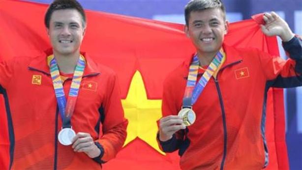 Tổng sắp huy chương SEA Games 30: Quần vợt lập kỳ tích