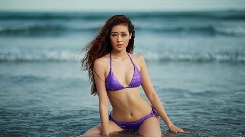 Lộ 'ảnh mới' của tân Hoa hậu Hoàn vũ Việt Nam 2019