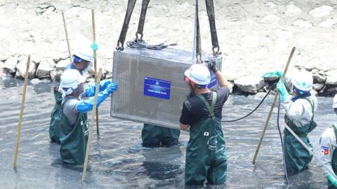 Thí điểm xử lý ô nhiễm Tô Lịch: Sẽ xử lý nếu...