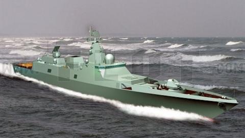 Nga định thời gian đóng siêu hạm mang 48 tên lửa Zircon