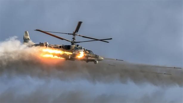 Ka-52 làm nhiệm vụ đánh chặn ở Syria