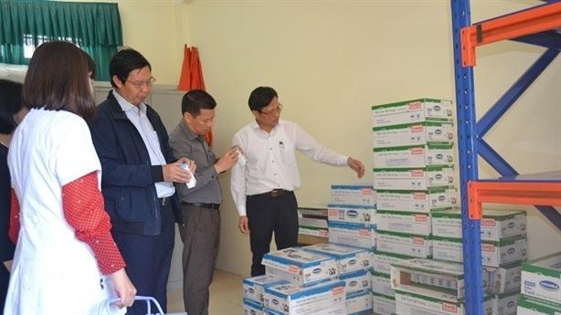 Hà Nội kiểm tra bếp ăn trường học tại Mê Linh